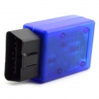 ELM327 Bluetooth OBD-II V1.5 Car Diagnostic Interface Tool - Blue
