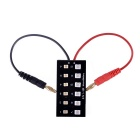 Micro Parallel Charging Board w/ Micro JST / JST-PH Connectors for R/C Helicopter - Black + Red