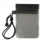 Universal Waterproof Protective PVC Case w/ Strap for Iphone / HTC / Samsung + More  - Black