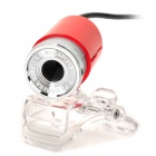 USB 2.0 300KP Web Camera - Red