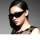 Reedoon 2222 Fashionable UV400 Protection Polarized Sunglasses / Universal Set of Myopia - Black