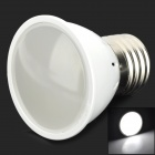 E27 3W 80lm 6500K 10-LED White Light Lamp - White