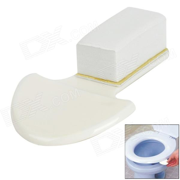 Bathroom Toilet Seat Cover Lifting Tool - White