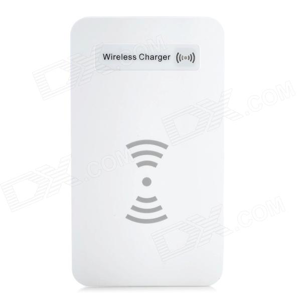 Mini Portable Micro USB 5V 1000mAh Wireless Charger for Nokia 920 / LG Nexus 4 + More - White duracell usb portable charger 5 hour 1800mah