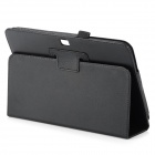 Flip Open Lambskin Case w/ Stand for Samsung Galaxy Tab 3 10.1 P5200 -
