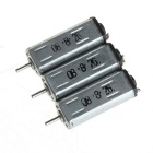 MINK30 DIY Motor for RC Electric Four Wheel Car Airplane Boat - Silver + Black (3 PCS)