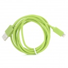 USB to 8pin Lightning Data / Charging Cable for iPhone 5 + More - Green (150cm)