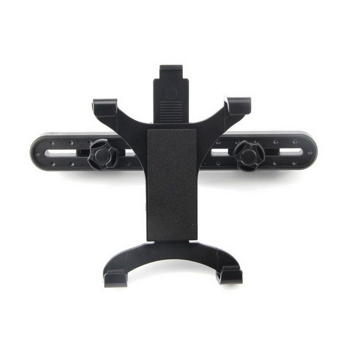 ZYZ-K110 Car Headrest Mount Holder for Ipad / Galaxy Note 10.1 / 7~11 Tablet PC - Black