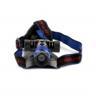 NITEFIRE NFH-17 400lm 3-Mode White Zooming Headlamp w/ CREE XM-L T6 - Black (1 x 18650 / 3 x AAA )