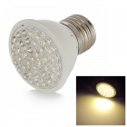JD38B-110 E27 1.9W 38-LED 120lm 3000K Warm White Light Bulb - White + Silver (AC 110V)