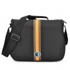 CASEMAN C18 Protective Nylon Shoulder Bag for Canon 550D / 600D / Nikon D90 + More - Black