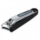 OUMEIDA 3013 ABS + Stainless Steel Nail Clipper - Silver + Black + Royal Blue