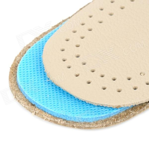 Jd 012 shock reducing capeskin latex shoe insole pads for men