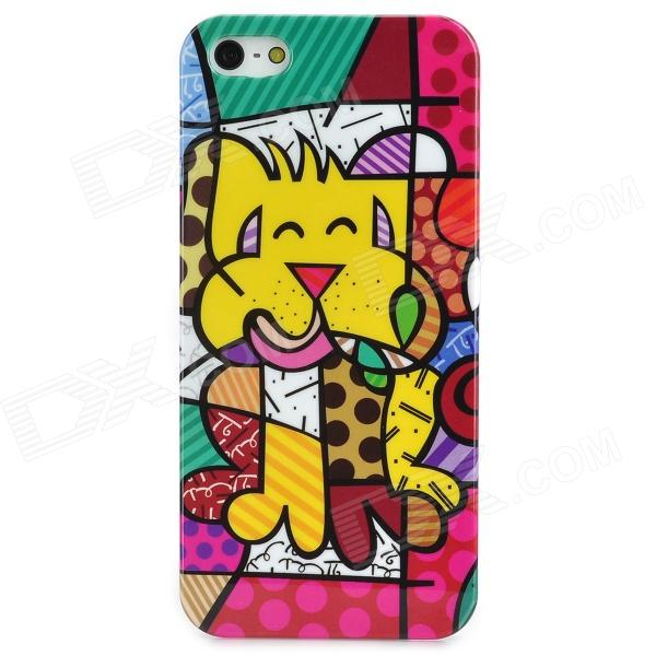 все цены на  Cute Graffiti Style Protective Plastic Back Case for Iphone 5 - Multicolor  онлайн