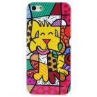 Cute Graffiti Style Protective Plastic Back Case for Iphone 5 - Multicolor