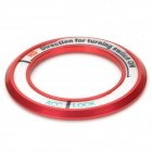 JHD001 Glow-in-the-Dark Ring for Car Ignition - Red + White