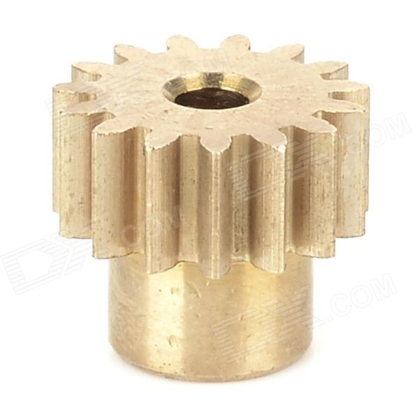 HSP 11185 Replacement Aluminum Alloy Motor Gear for 94103 / 94103pro + More - Golden new arrival hsp 11185 motor gear 15t for rc 1 10 model car buggy truck 94110 94115 pro