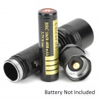 UltraFire BT-302 500lm 5-Mode Memory White Flashlight - Black (1 x 18650)