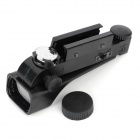 1 x 1 ABS + Optics Wide Angle Red Dot Air Gun Scope - Black