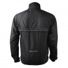 Spakct CSY024B Outdoor Cycling Fiber Removable Long Sleeves Jacket for Men - Black (XXL)