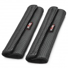 Car Seat Belt Cover - Black + Red (2 PCS)