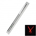 SG-HB01 5mW 635nm Cross Line Red Laser Pointer Pen - Silver (2 x AAA)