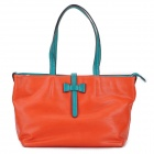 LOVEMATCH 1307013104 Fashionable Women's Tote Shoulder Bag - Orange Red