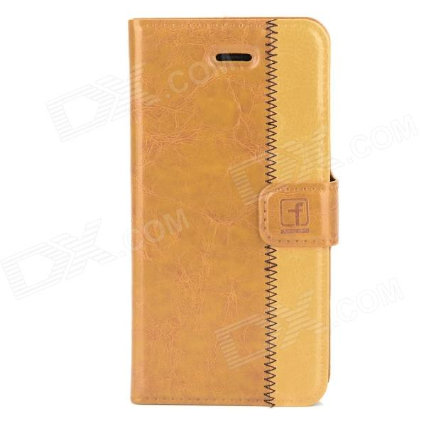 все цены на Flower Show Protective Genuine Leather Case for Iphone 5 - Brown + Black онлайн