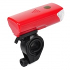 Cycling 3-Mode  5-LED White Light Bike Front Lamp - Red (3 x AAA)