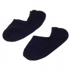 K01 Fashionable Ultrathin Cotton Men's Casual Socks - Black (Pair / 25~28cm)