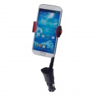 Universal Multifunctional Cellphone Holder w/ USB Car Charger for Samsung Galaxy S4 i9500 - Black