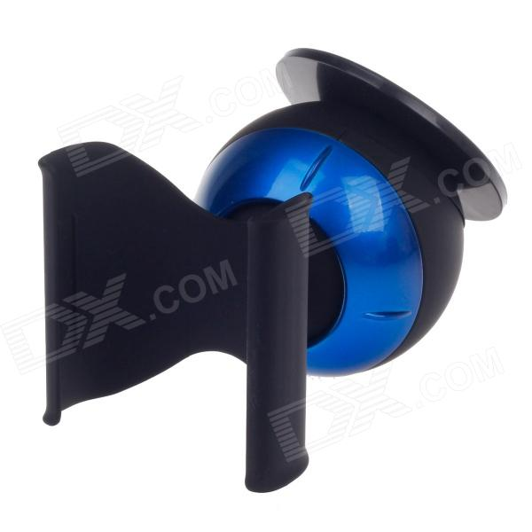 CHOYO S2240W Universal Car Front Windshield Suction Cup Holder Bracket for Cellphone - Black + Blue concept car universal windshield mount holder for iphone samsung cellphone black