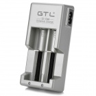 GTL Universal EU Plug Li-ion Battery Charger Set - Deep Gray