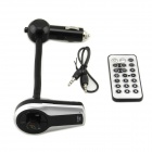 "BT-518E 0,4"" LCD Bluetooth V2.1 Handsfree Car Kit w / MP3 Player / Transmissor FM / A2DP - Preto"