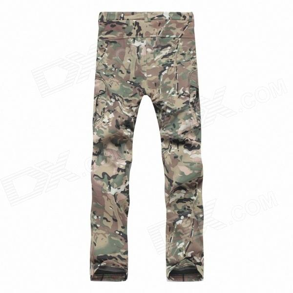 Outdoor Men's Quick Dry Hiking Trekking Trousers - CP Camouflage (Size-L) 1000pcs rv1 25 10 insulated wire connector ring crimp terminal 22 16 awg 0 5 1 5mm2