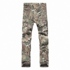 Outdoor Men's Quick Dry Hiking Trekking Trousers - CP Camouflage (Size-L)