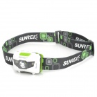 Sunree Youdo2 Cree XP-E + 2-LED 122lm 7-Mode White Portable Headlamp (3 x AAA)