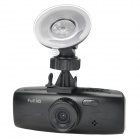 "2.7"" LCD HD 1080P Wide Angle 4X Zoom Car DVR Recorder w/ 2-IR LED - Black"