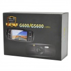 "2.7 ""LCD HD 1080p Grand Angle 4 X Zoom voiture DVR enregistreur w / 2-IR LED - noir"