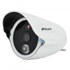 "XunDao LG-CM3070 1/4"" CMOS 700 Lines Surveillance IP Network Camera w/ 1-IR LED Night Vision - White"
