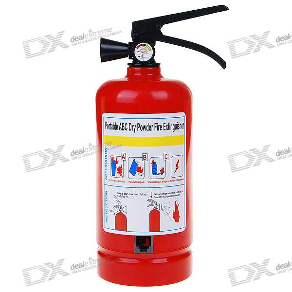 Fire Extinguisher Shaped Land Line Telephone