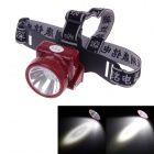 KMS KM-170 100lm 2-Mode Rechargeable Energy-saving White Light Li-ion Headlight w/ CREE XML T6 - Red