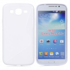 "Protective Plastic Back Case for Samsung i9150 5.8"" - White"