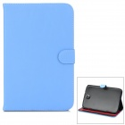 Protective PU Leather Case w/ Stylus for Samsung Galaxy Note 8.0 N5100 - Blue