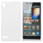 Protective TPU Back Case for Quidway Ascend P6 - White