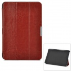 Ultra Thin Crazy Horse Leather Case for Amazon Kindle Fire HD 8.9 - Brown