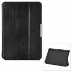 Ultra Thin Crazy Horse Leather Case for Amazon Kindle Fire HD 8.9 - Black