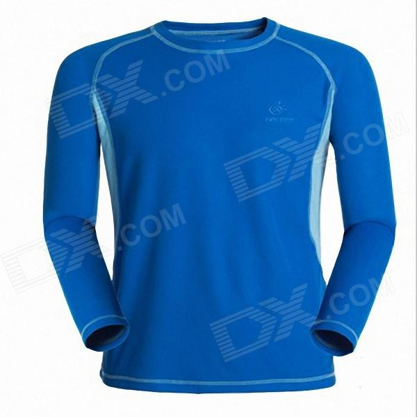 TECTOP Cellular Technology Sweat Quick-Drying T-Shirt for Men - Blue (Size-XL) arun bhagat ashutosh chavan and yatiraj kamble solar drying technology