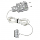 Sparkling Crystal Decorative US Plug Power Adapter + Apple 30 Pin Cable for iPhone 4S / 4 (97cm)