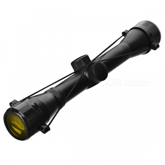 Deluxe Aluminum Alloy 4x32 Hunting Rifle Scope - Black